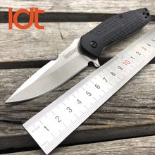 LDT Kershaw 1970 Folding Knives Glass-filled Nylon Handle 8Cr13Mov Blade Flipper Camping Knife Survival Tactical Hunting Tools