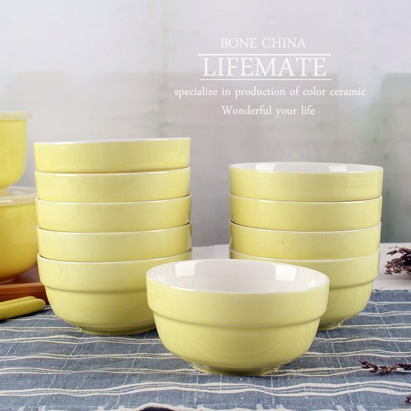 pas cher corenne porcelaine costume de vaisselle bol de nouilles instantanes 425 pouces 10 enfants - Vaisselle Colore Pas Cher