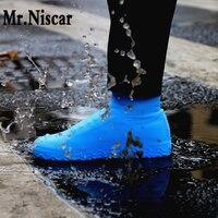 Нескользящие водонепроницаемые чехлы для обуви креативные силиконовые уличные непромокаемые ботинки подходят для всех женщин и мужчин ле...