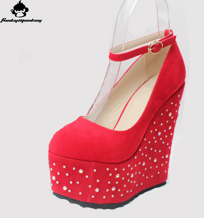 27c6e434d Popular Red Wedge Heels 3-Buy Cheap Red Wedge Heels 3 lots from .