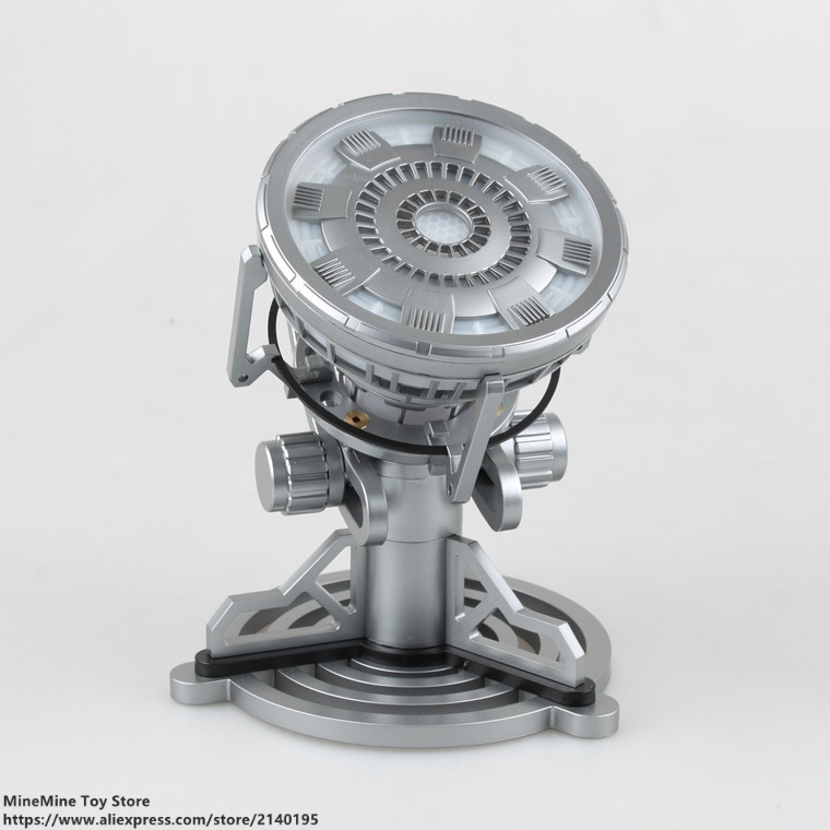 ZXZ Marvel Avengers Iron Man MK6 Arc Reactor 15cm Action Figure Posture Anime Decoration Collection Figurine Toy model gift