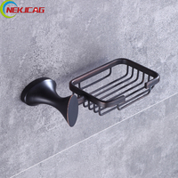 Soild Brass Basket Soap Holder Wall Mounted Soap Dishes Bathroom Soap Holder Soap Case Free Shipping