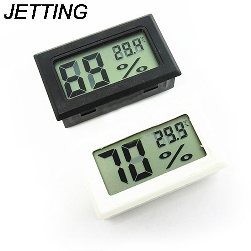 50 70°C Temperatur Hygrometer Luftfeuchtigkeit Mini Thermometer Digital LCD