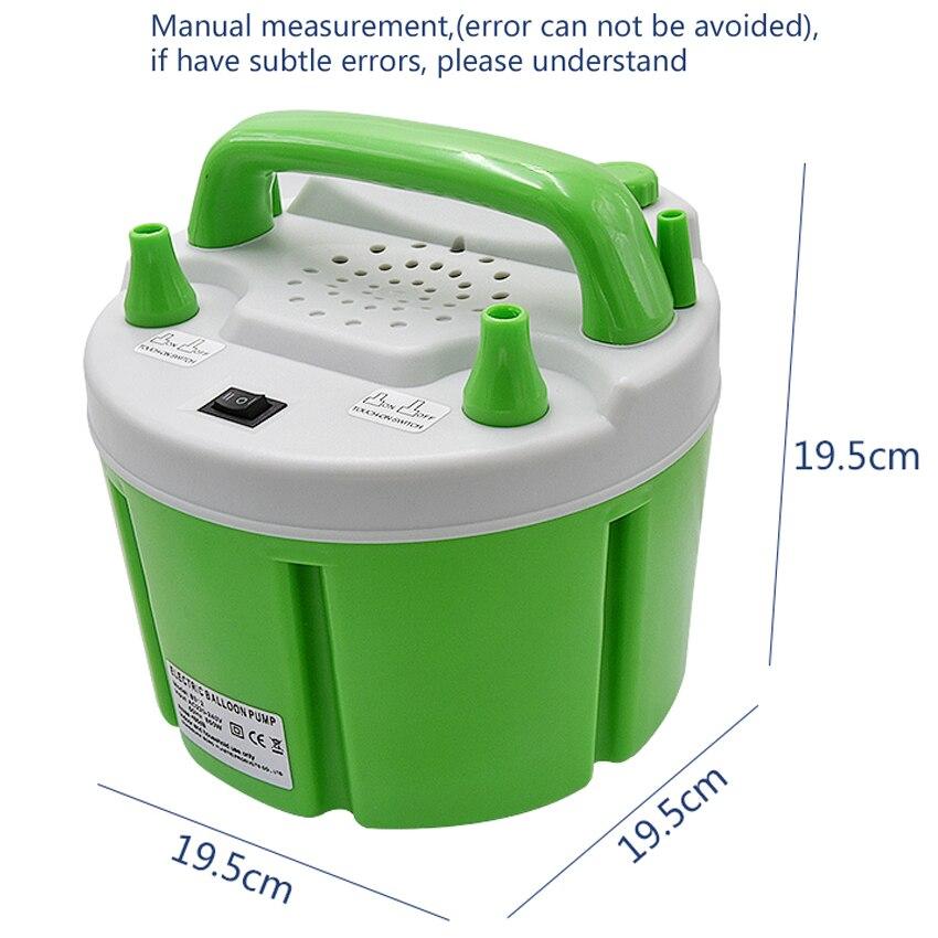 Pompe à ballon électrique Air frais 220 v/110 v 850 W B312 + ventilateur de gonflage d'air pour ballon avec fonction de contrôle de synchronisation avec 2 Nozzel