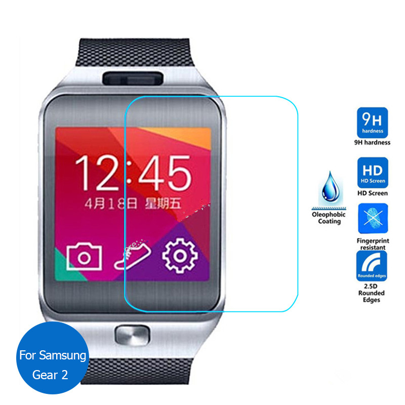 9H Premium Explosion-proof Tempered Glass For Samsung Galaxy Gear 2 R380 Neo R381 Screen Protector Smart Watch Protective Film