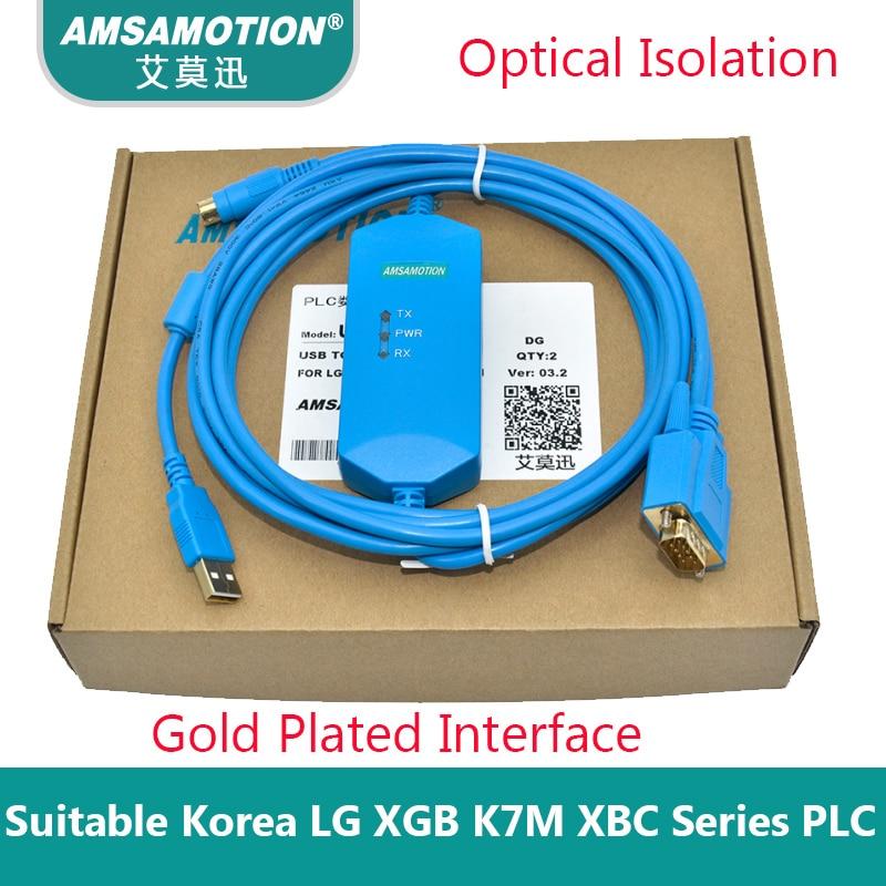 USB-LG-XGB подходит Корея LG LS K120S ПЛК серии Кабель для программирования данных dowanload кабель