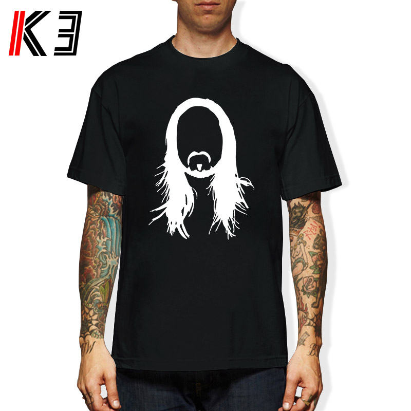 K3 STEVE AOKI - Printed Mens T Shirt Graphic EDM House Music Festival Ibiza Electro TShirt Tee Shirt Unisex More Size and Colors image