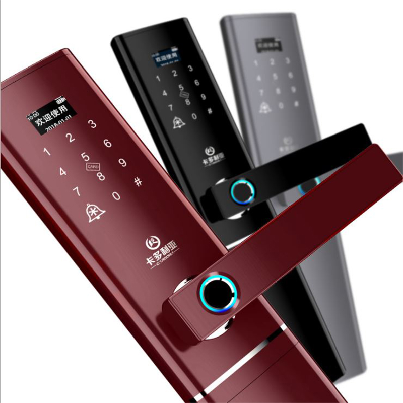 Nouveau i-touch serrure d'empreinte digitale biologique mot de passe serrure villa maison porte serrure intelligente