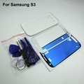 Battery door Cover and LCD Touch Screen  Front Glass Lens replacement  for Samsung Galaxy S3 i9300 & Adhesive & Tool kit