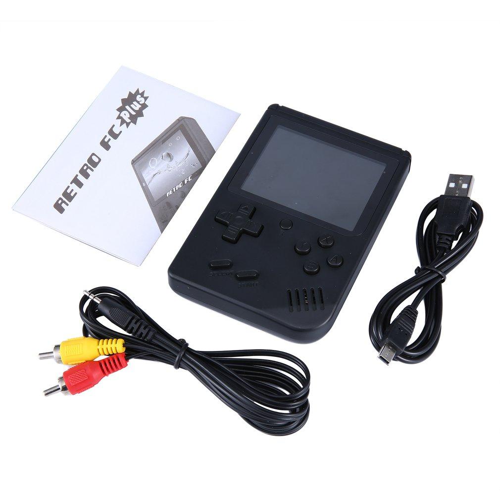 168 In 1 Retro Mini Tragbare Handheld Spielkonsole Spieler 3,0 Zoll 8 Bit Klassische Video Konsole Retro-fc Plus Erfrischung
