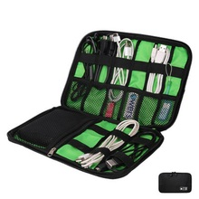 Portable Organizer System Kit Case waterproof  Storage Bag Digital Gadget Devices USB Cable Earphone Pen Travel organizador