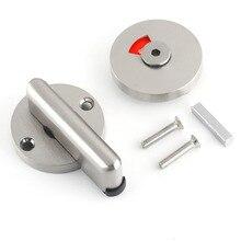 1 компл. Нержавеющая сталь ванная комната указатель туалета болт дверная ручка замок отключение средства