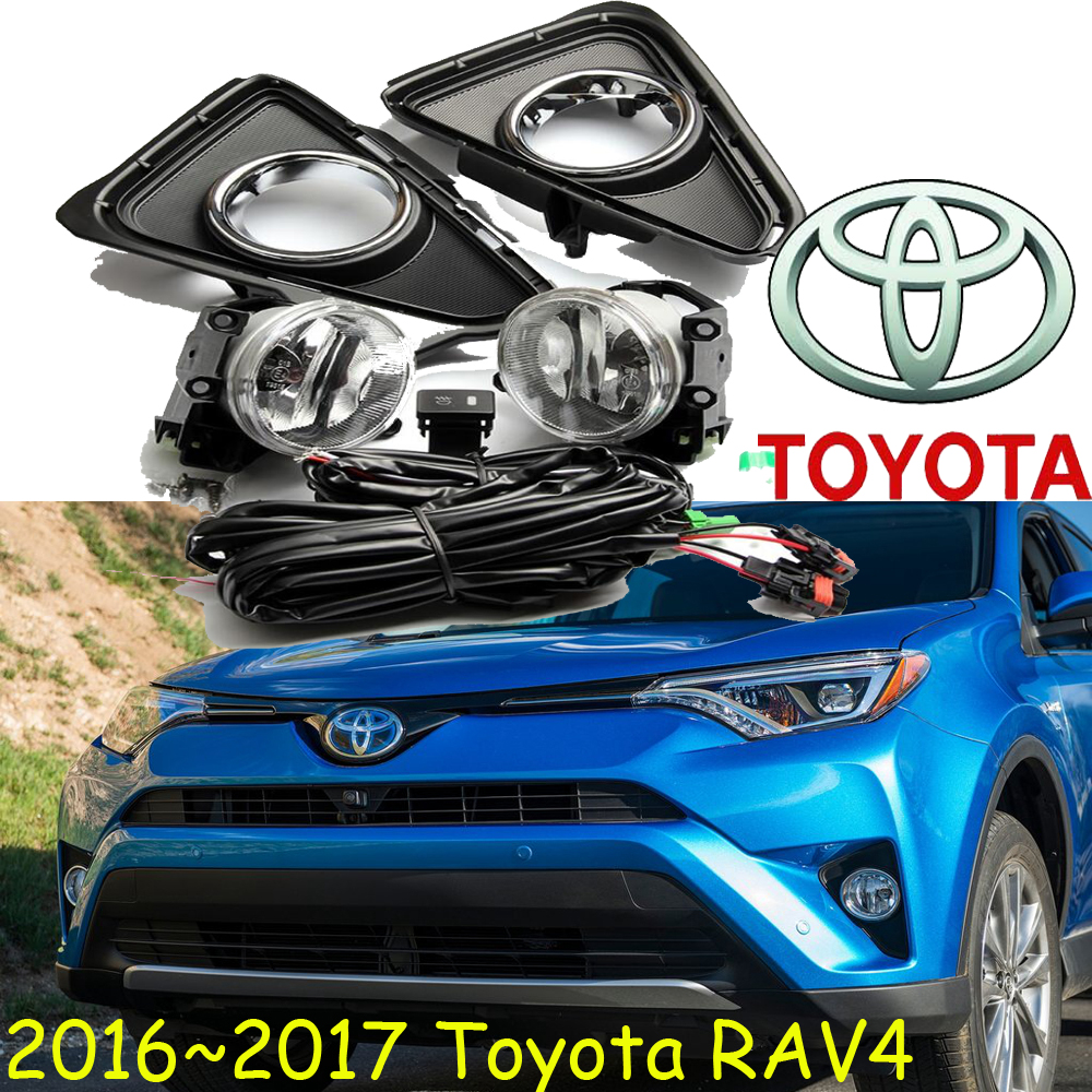 RAV4 fog light,2004~2005/2016~2017,2pcs/set+wire of harness,RAV4 halogen light,Free ship! RAV4 headlight; RAV 4 2011 2013 golf6 fog light 2pcs set wire of harness golf6 halogen light 4300k free ship golf6 headlight golf 6