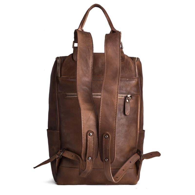 Рюкзак із шкіряного шкіряного - Рюкзаки - фото 4