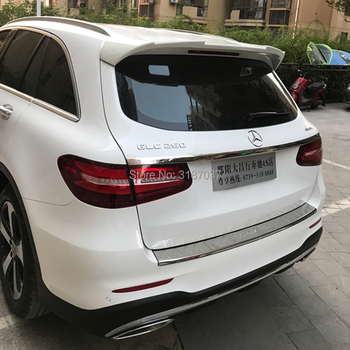 For Benz GLC200 Spoiler 2015+ ABS Plastic  Rear Roof Spoiler Wing Trunk Lip Boot Cover Car Styling