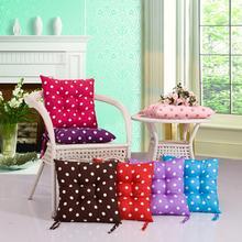 купить 40x40cm Dots Design Chair Cushion Mat Pad Multi Color Seat Pad Cushion Cojines Chair Sofa Throw Pillow Floor Cushion Home Decor по цене 58.08 рублей