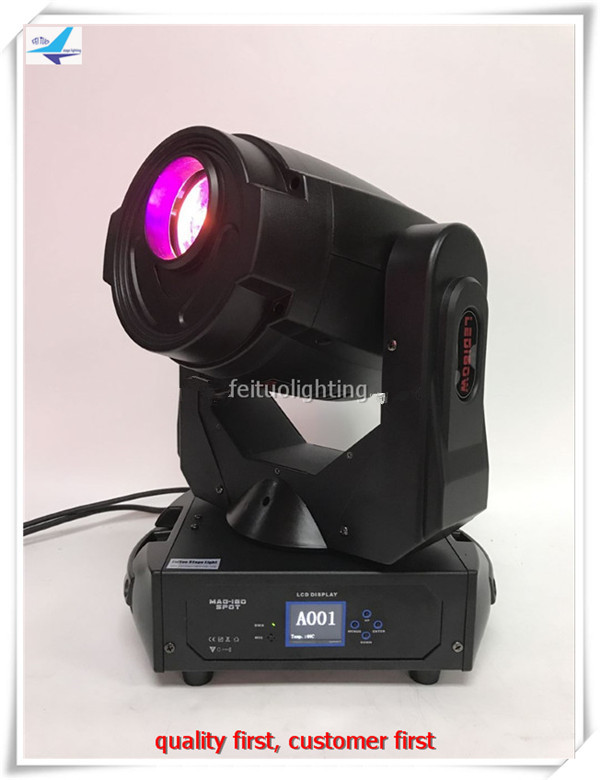 free shipping Spot Gobo 180w LED Moving Head Light 3 Facet Prism Stage Show Automic Projector Lighting DMX Club DJ Party Lights 1lot 2pcs 30w spot gobo moving head light dmx controller led stage lighting dj wedding christmas decorations stage light par led