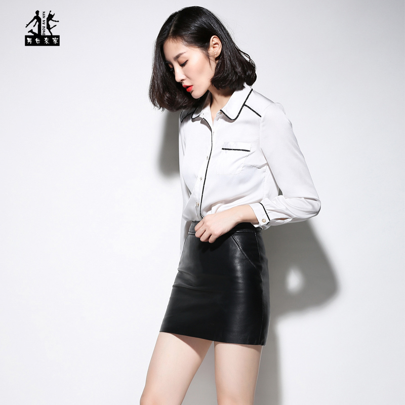 Online Get Cheap Black Leather Mini Skirt -Aliexpress.com ...