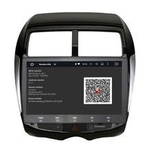 Coche de navegación gps android 5.1.1 estéreo para Mitsubishi ASX 10-12 PEUGEOT 4008 2DIN pantalla RAOID GPS grabadora de Radio unidad principal mapa