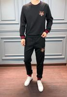 WRD0955BA Новое поступление Для мужчин наборы 2018 Необычные Элитный бренд Европейский дизайн зимний стиль Мужская одежда
