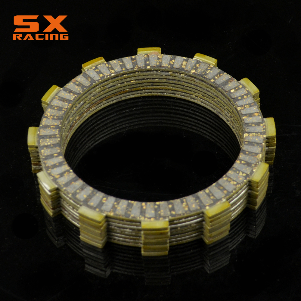 Motorcycle Engine Set Clutch Friction Disc For HONDA CRF250R CRF 250R 2004 2005 2006 2007 CR125R CR 125R 2000-2014 Dirt Bike