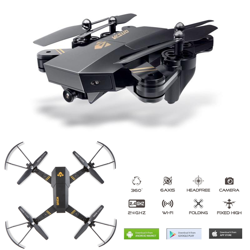 Xs809 Foldable font b Drone b font With Camera Wifi Fpv Quadcopter Rc font b Drones