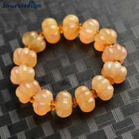 Wholesale Natural Horn Bracelets Claw Pumpkin Beads Hand String Rosary Tibetan Style Bracelet Lucky for Men Women Jewelry