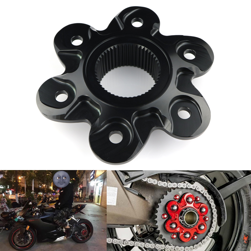 Motorcycle Sprocket protection block Rear Sprocket Drive Flange Cover For Ducati Multistrada 1200/1200S 10-12 Multistrada 1200 a3 1200s 1230989