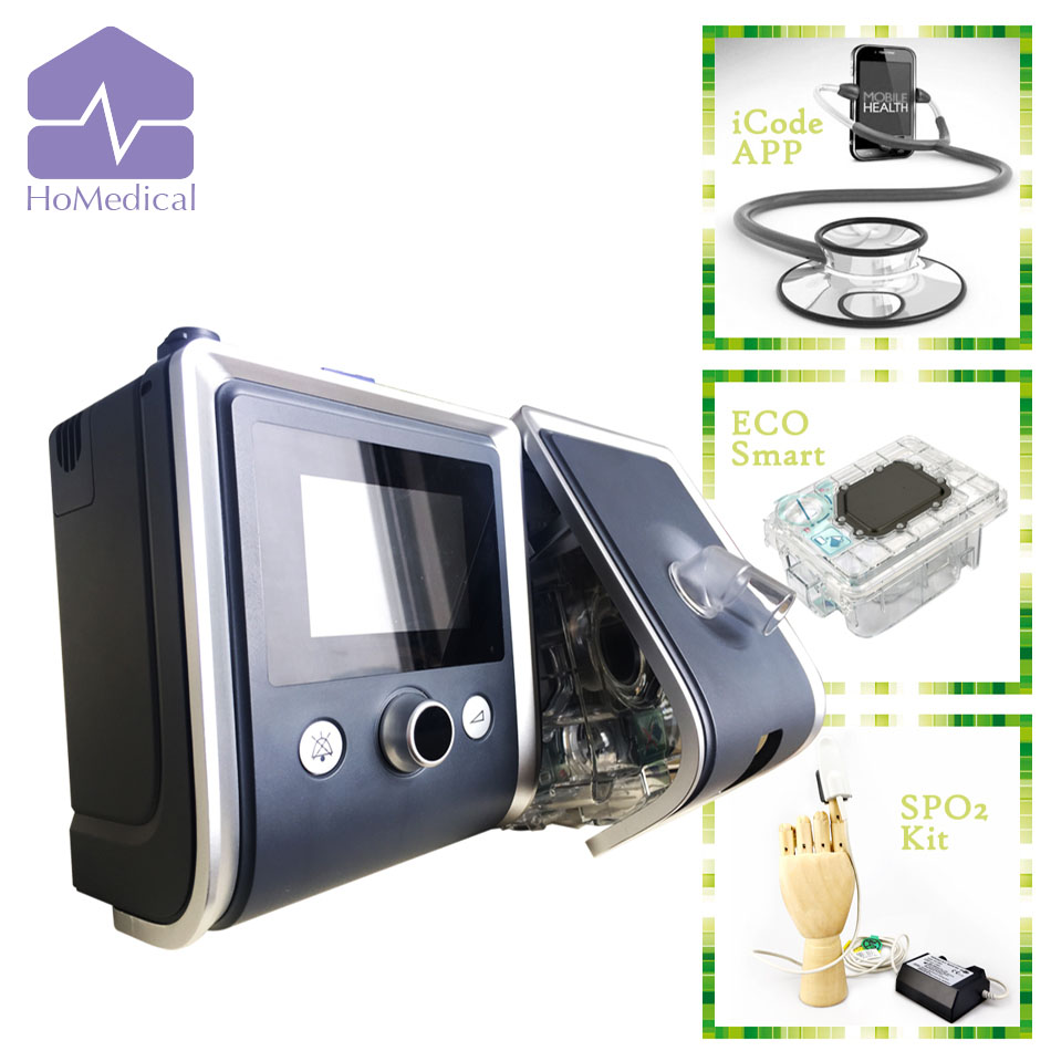 NEW HoMedical GII CPAP with Humidifier and Mask for Sleep Apnea Patient/ OSA Patient / Snoring Patient new phoenix 11207 b777 300er pk gii 1 400 skyteam aviation indonesia commercial jetliners plane model hobby