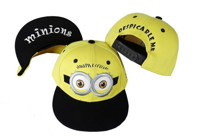 New Fashion Embroidered Despicable Me Hats