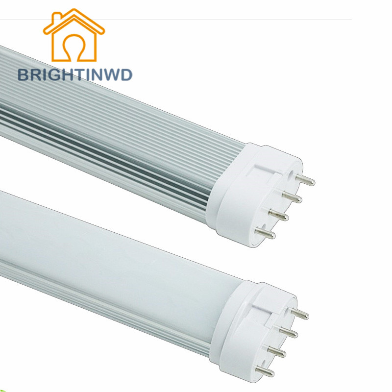 Best 2G11 LED Light Tube 9W 12W 16W 22W SMD2835 Diffused Cover AC85--265V Warm/Cool White FAST Shipping