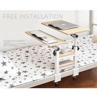 K2laptop Desk Bed With Folding Dormitory Artifact Lazy Desk Desk Bedroom Learning Table Folding Student Dormitory