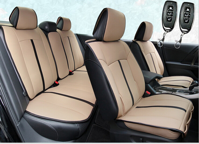 car seat cover Multi function Smart car air conditioning ventilation ...