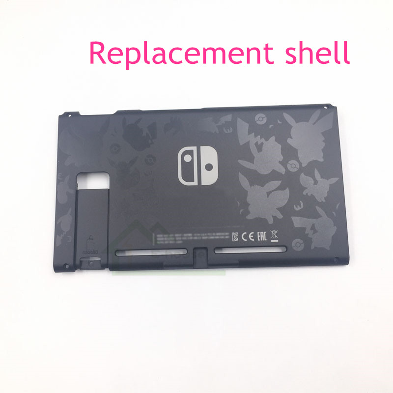 Limited Edition Back Housing Shell Case Replacement For NS Nintend Switch Game Console Repair Part