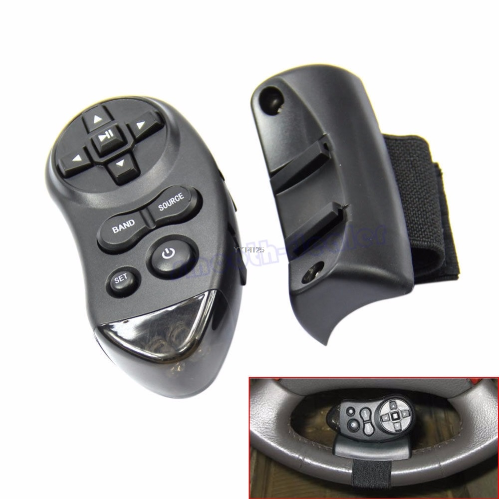 Universal Steering Wheel Learning Remote Control For Car CD DVD VCD Car Accessories