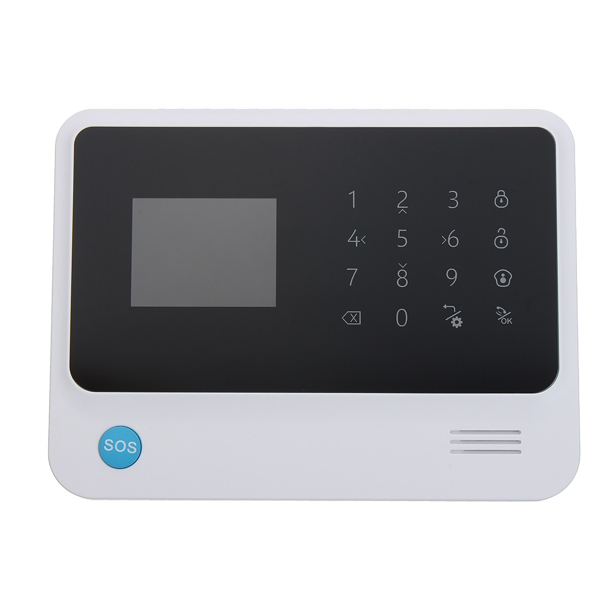 NEW G90B PLUS WiFi GSM Wireless Home Intruder Burglar Alarm Security System HOT Alarm Mainframe Kits wireless smoke fire detector for wireless for touch keypad panel wifi gsm home security burglar voice alarm system
