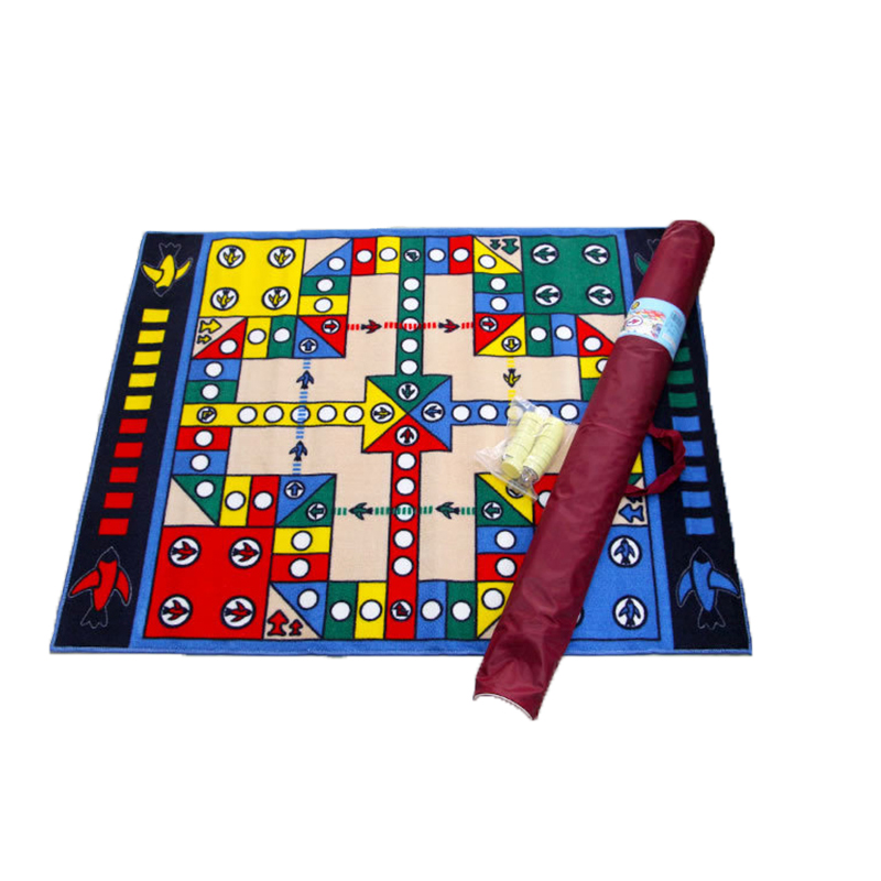 funny game play puzzle crawling mats flying chess baby gym tapis de jeu baby child adult - Tapis Color Fly