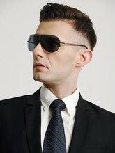 Luxury Folding One Piece Nylon Polarized SunGlasses For Men Portable Pilot Brand Driving Cool Women Sunglasses Eyewear 8101N