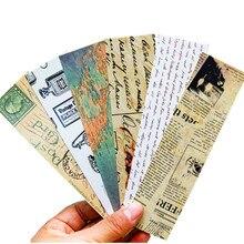 30 pçs/lote nova coleção retro criativo bookmark presente promocional papelaria filme marcador