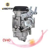ZSDTRP 40mm CV40 Carburetor Carb Replace Keihi for Dana Electra Glide FatBoy High Performance 40mm Carburetor