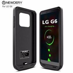 Тонкий чехол для зарядного устройства телефона для LG G6/G6 + чехол с высокой емкостью для зарядки аккумулятора выход 5 В/2A чехол питания для LG g6 ...