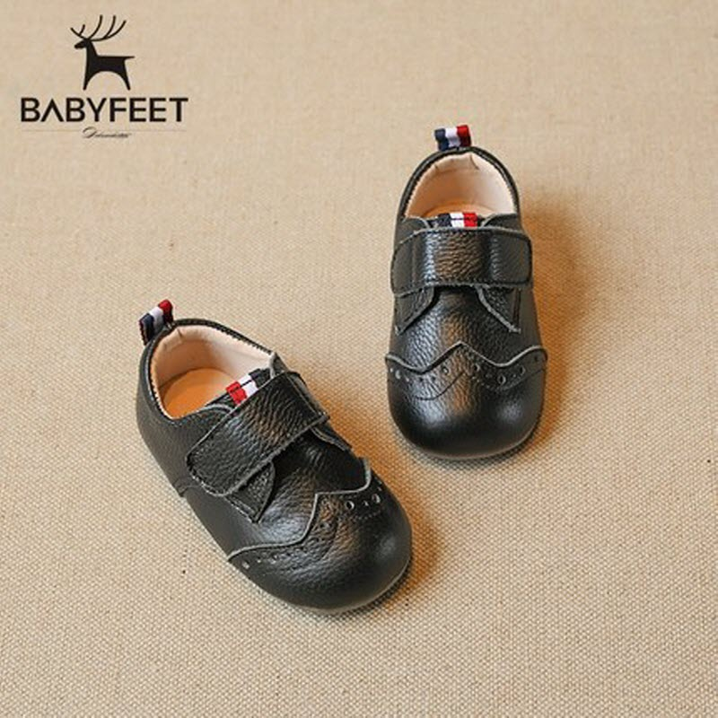 Babyfeet Children kids shoes baby Boy girl shoes Genuine Leather flats tenis infantil chaussure enfant garcon calzado infantil kids shoes girls winter diamond bow toddler pu shoes children trainers baby shoes infantil princess warm shoes chaussure enfant