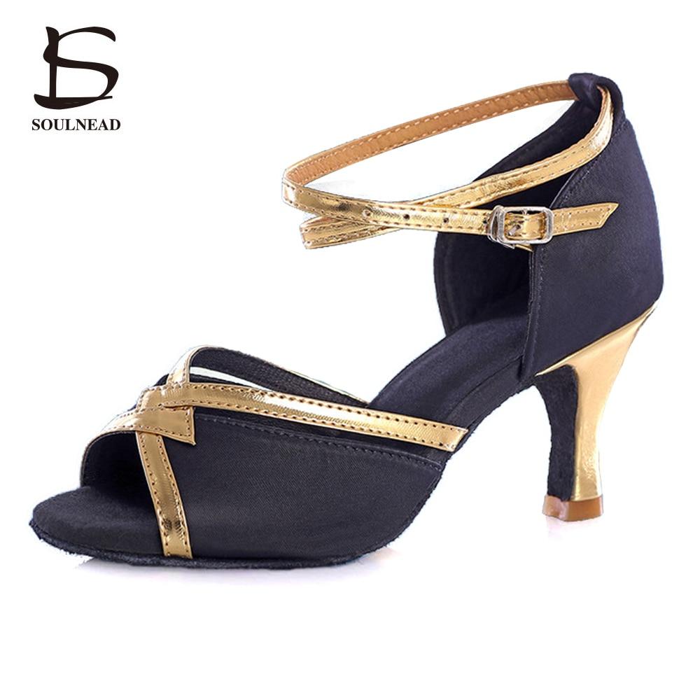 New Style Latino Woman Dancing font b Shoes b font Girl Ladies Tango font b Salsa