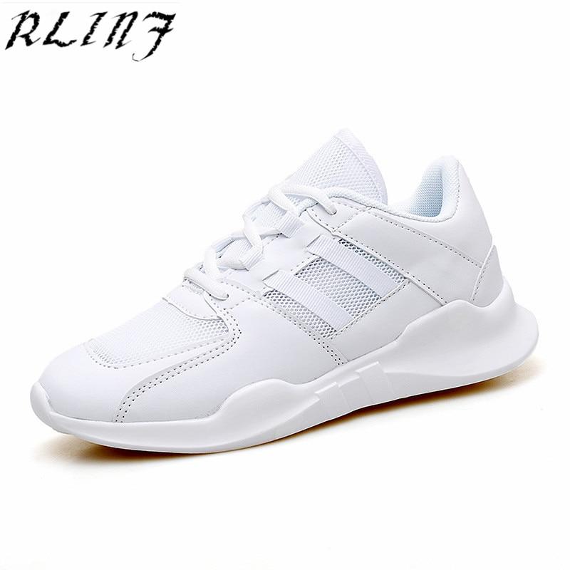 Chaussures blanc Noir Respirant Casual Confortable Maille Rlinf 2018 D'été Z78EEf