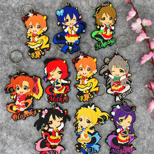 IVYYE 1PCS 10CM LOVE LIVE Girl Anime Action Figure Model PVC Collection Cute Cartoon Figures Toys Keychain Unisex Gifts(China)