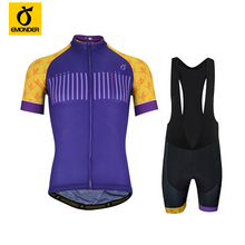 EMONDER Pro team Mens Maillot Ciclismo Cycling Clothing Jersey Sets Short Sleeve MTB Bicycle Biking