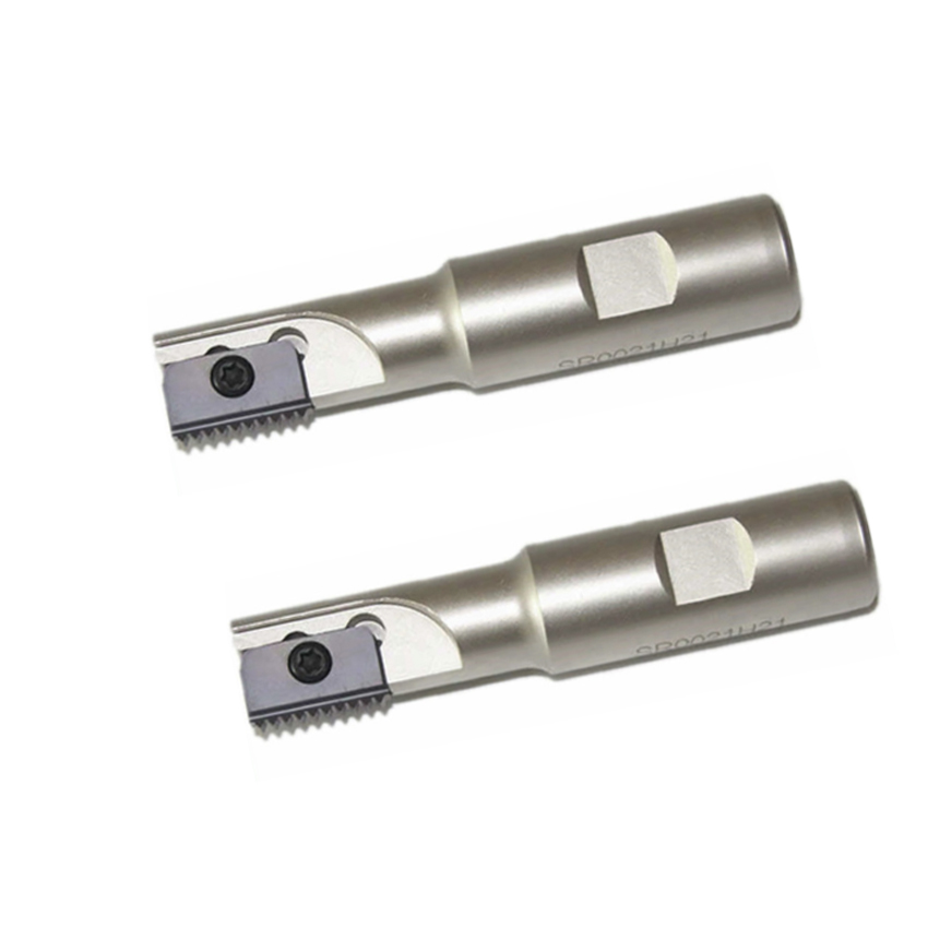 Купить с кэшбэком Internal thread milling rod internal cold metric thread milling cutter m12 combing cutter single blade indexable SR thread