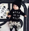 ins hot sale baby clothes cotton t-shirt+pants casual baby boys clothing set fahion bebe clothes