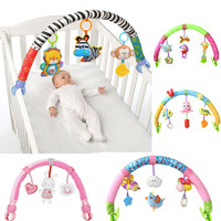 Sozzy Infant Stroller Toys 0 12 Month For Kids Cute Newborn Hanging Baby Rattle Mobile Ring