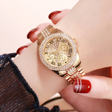 Luxury Brand Best-seller Diamond Waterproof Watch